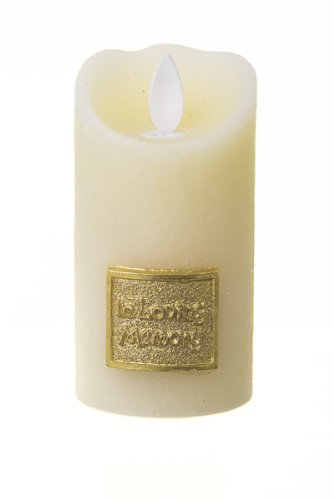 Amazoncom Copa Judaica Ivory Led Memorial Candle Holder In