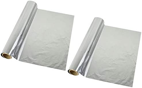 guojiwu 2 Rollos de Papel del Papel de Aluminio del Almacenamiento ...