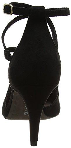 Tamaris Women 24400 Sandali Con Il Cinturino Nero (nero)