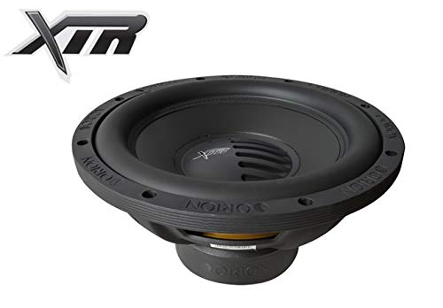 "Orion XTR124D 12"" XTR Series 1200W Peak Power Dual 4-ohm Car Audio Base Subwoofer"