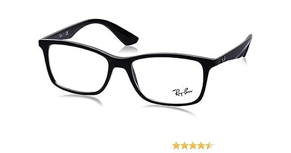 e62b720713 Ray-Ban 0Rx7047 Monturas de gafas, Black, 54 para Hombre: Amazon.es: Ropa y  accesorios