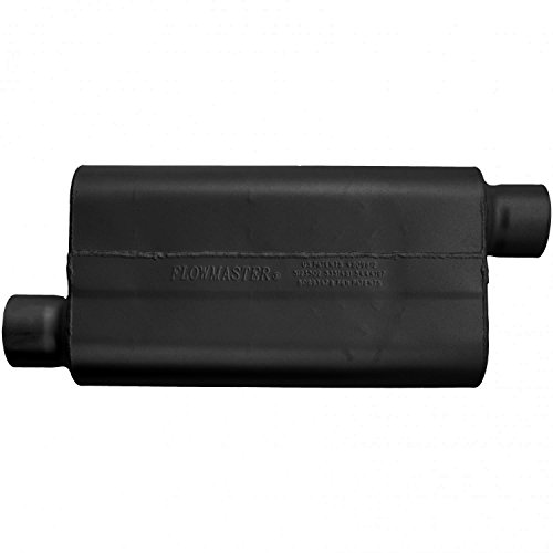 Flowmaster 943053 50 Delta Flow Muffler - 3.00 Offset IN / 3.00 Offset OUT - Moderate Sound