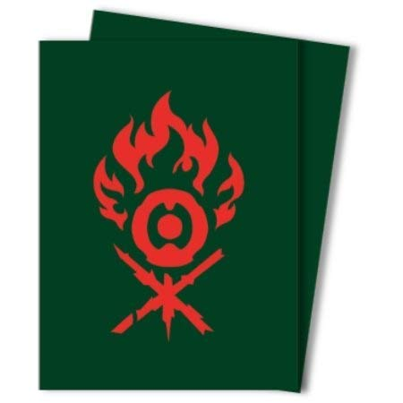 Ultra Pro Magic: The Gathering Guilds of Ravnica Gruul Deck Protector Sleeves (100 Count)