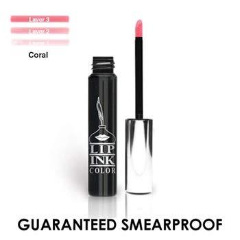 (LIP INK Liquid Lip Color Lipstick - True Coral | Natural & Organic Makeup for Women by Lip Ink International | 100% Organic, Kosher, Vegan)
