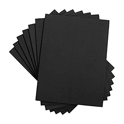 Houseables Crafts Foam Sheets, Art Supplies, EVA, 6mm Thick, 9 X 12 Inch, 10 Pack, Paper Scrapbooking, Cosplay, Crafting Foams Paper, Foamie Crafts, for Kids, Boy Souts, Halloween, Cushion