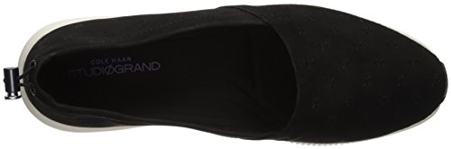Haan Studiogrand Slip On Nubuck Perf Loafer Cole Black Womens Perforated SAdqwRdZ