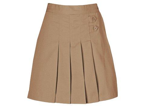 UPC 716605932959, Classroom Little Girls' Uniform Pleated Tab Scooter,Khaki,6