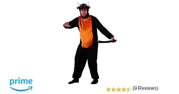 Atosa - Disfraz de toro para adulto, talla M/L (111-69631): Amazon ...
