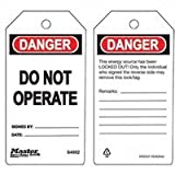 Do Not Operate Safety Tag, Sold As 1 Package, 6 Each Per Package