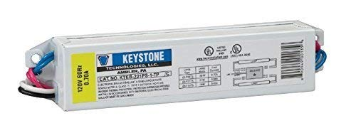 Keystone KTEB-221PS-1-TP Residential Use Only Electronic Ballast 2x F21T5 - 120V