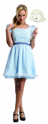 Rubie's Costume Disney's Oz The Great and Powerful Adult China Doll Dress and Mask, Blue, X-Small