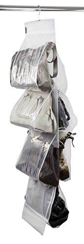Home Basics SB44383 Handbag Organizer Hangs vertically from