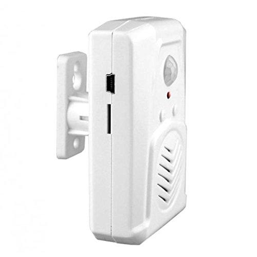 (MagiDeal PIR Infared Sensor Doorbell Chime w/ Audio MP3 Player Bi-directional Speaker, Office Commecial Grade)