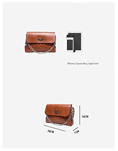 Quadrato Crossbody Ragazza Bag Semplice Piccolo Selvaggio Selvaggia Della Rombico Sacchetto 挎 Hxkb BxqdI0wB