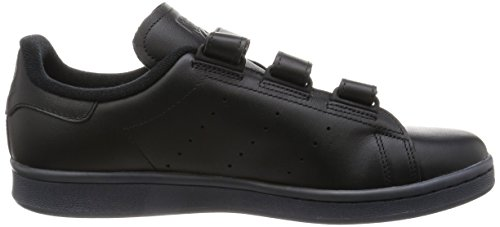 adidas Men's Stan Smith Cf Gymnastics Shoes, Black, 8.5 UK Black (Cblack/Cblack/Cblack Cblack/Cblack/Cblack)