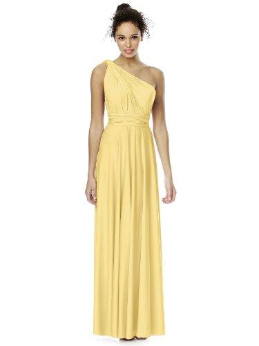 Dress s Dessy Buttercup Twist Jersey Matte Full Length by Women Convertible 0RBqffx
