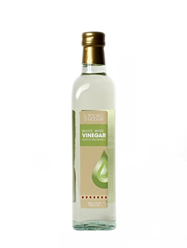 Italy White Wine (Il Tesoro Di Modena White Wine Vinegar, 17 fl. oz.)