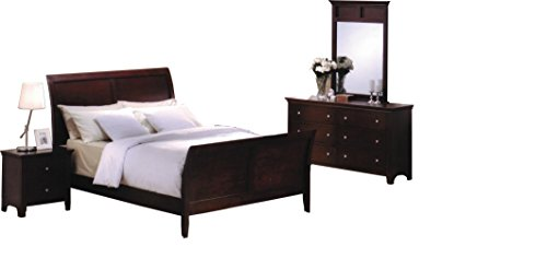 Price tracking for roundhill furniture le charmel 5 piece - 5 piece queen sleigh bedroom set ...