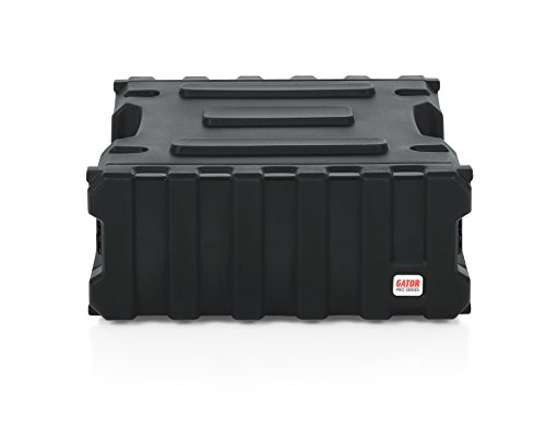 (Gator Cases Pro Series Rotationally Molded 4U Rack Case with Standard 19
