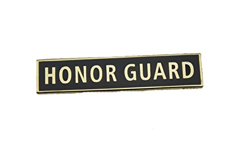 Honor Guard Citation Bar Police Uniform Merit Award Commendation Citation Bar pin -Gold ()