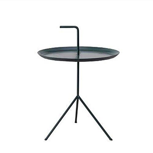 Amazon.com: LS Ling Shi Coffee Table Iron Art Side Table ...