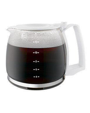 Proctor Silex 12-Cup Durable Replacement Carafe, White 88180Y (Pack of 2) ()