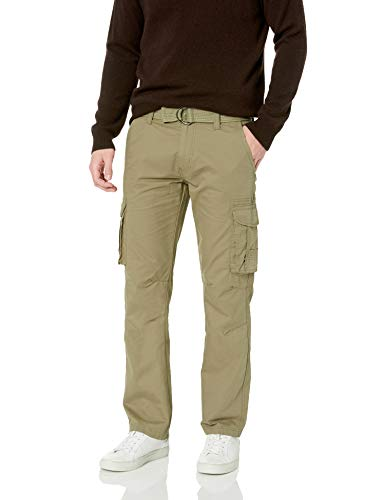 Company 81 Men's Twill Cargo Pants, Fatigue, 34x32