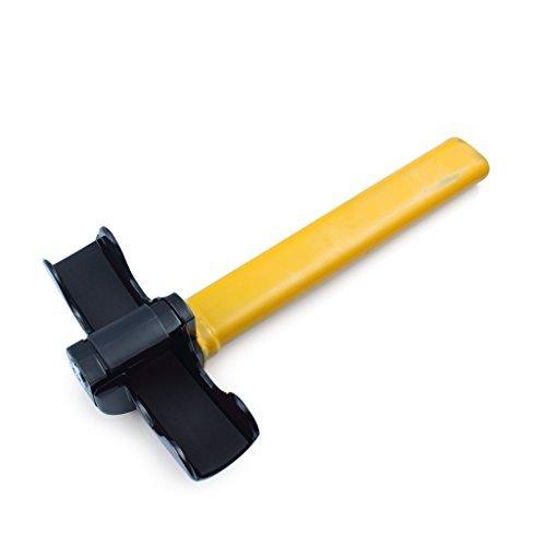 Pedal Jack (EFORCAR(R) 1 PCS Universal Anti-Theft Car Van Security Rotary Steering Wheel Lock Fits)