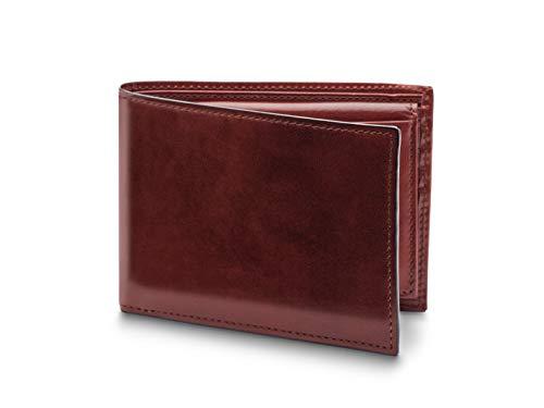 (Bosca Men's Credit Italian Leather Wallet With I.D. Passcase In Dark Brown)