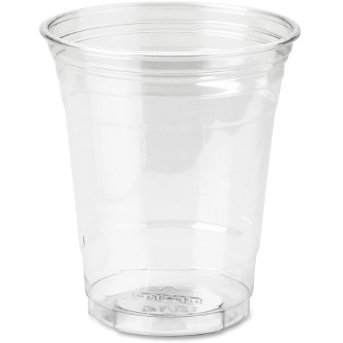 Dixie Crystal Clear Cup (Dixie CP12DXPK Cold Drink Cups, 12 oz, 25/PK, Clear Plastic)