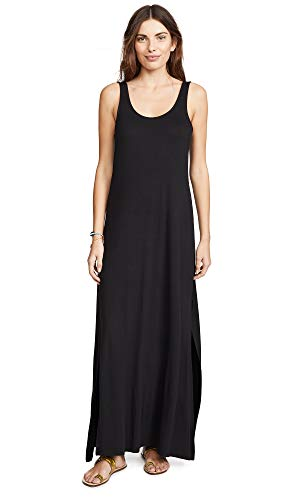 - Z SUPPLY Women's Victoria Maxi Dress, Black, Large