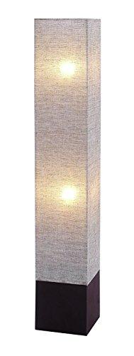 Benzara Stylish Grey-Shaded Floor Lamp - Adjustable Shaded Floor Lamp