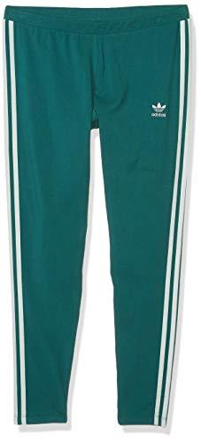 adidas Originals Women's 3 Stripes Legging, Noble green, Small