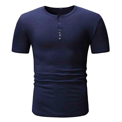 Men's Size Tall Short-Sleeve Beefy T-Shirt (Pack of Two) Dark Blue by Donci T Shirt (Image #2)