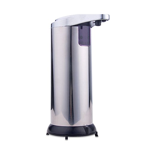 anca-demi-automatic-touchless-soap-dispenser-stainless-steel-waterproof-base-touch-free-soap-dispens