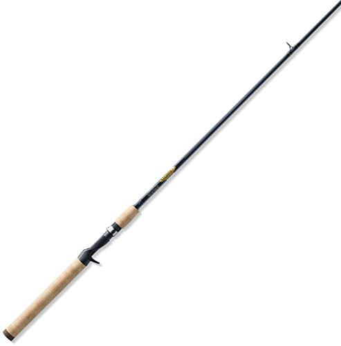 St. Croix TRC66MHF Triumph Graphite Casting Fishing Rod with Premium Cork Handle, 6-feet 6-inches