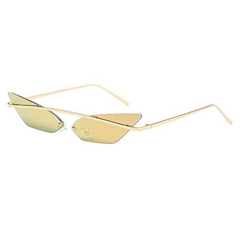 Homme couleurs Petit Mode MagiDeal de de Lunettes Lunettes Chat Transparente Mode Femme Sunglasses Rose Oeil 7 Cadre Soleil Dames Vintage Femmes HaqPwnAaf
