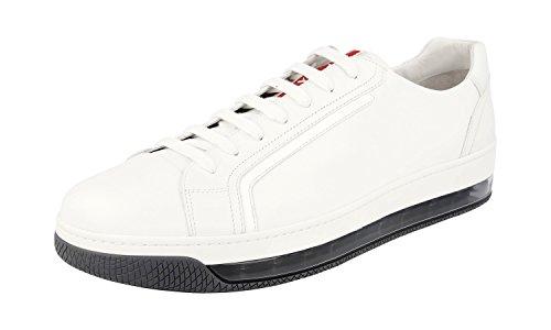 Prada Men's 4E2701 O3Y F0009 Leather Trainers/Sneaker cheap sale footaction dxA6bTqa3