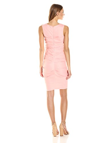79748afc14 Nicole Miller 146066 Women s Lauren Stretch Linen Dress Color Petal Pink Sz  10. About this product. Picture 1 of 4  Picture 2 of 4  Picture 3 of 4 ...