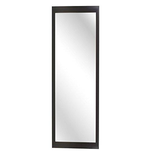 Specchio da Parete, Lungo, Lunghezza Completa, Arredamento per la Camera da  Letto Nero
