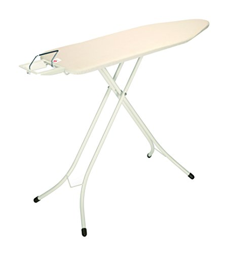 (Brabantia Ironing Board with Steam Iron Rest, Size B, Standard - Ecru Cover)