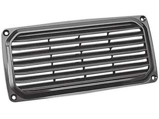 Five Oceans Black Louvered Ventilator, 7