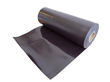 Magnetfolie weiß matt beschichtet 0,5mm x 100cm x 100cm Meterware