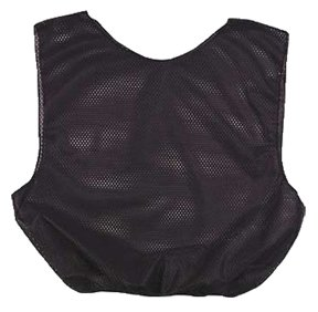 Black Youth Youth Poly Scrimmage Vests ()