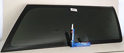 Chevrolet Quarter Window - NAGD Fits 1993-1999 Chevrolet Blazer & Chevrolet Tahoe & GMC Yukon 2 Door Utility Passenger Side Right Rear Quarter Window Glass W/All Hardare W/ 2 Silka OEM