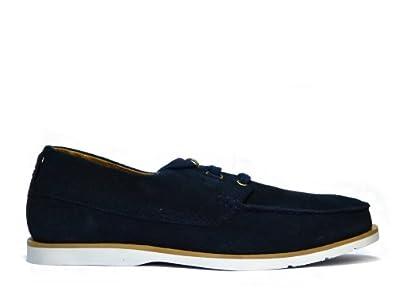 9d27daa96818 Fila Contempo Blue Barchetta Suede Deck Shoes  Amazon.co.uk  Shoes ...