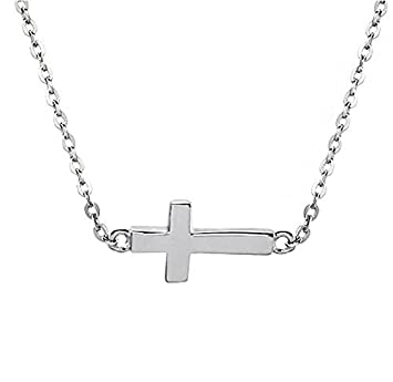 Sterling Silver Cross Pendant Necklace The Beauty Cross