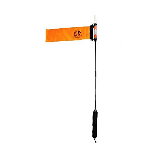 YakAttack VISICarbon Pro 360 Degree LED Kayak Fishing Visibility Flag