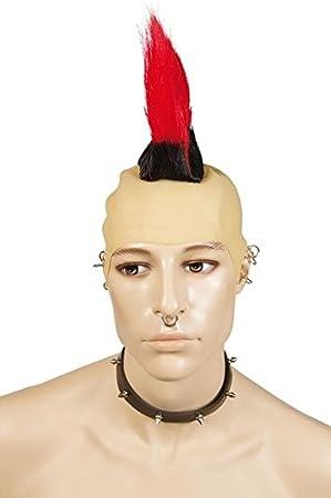 Ptit Clown P Tit Payaso – 31390 – Peluca Cresta de Punk – Talla única