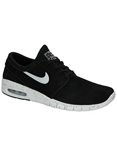 Nike Air Stefan Janoski Max L Suede Sneaker Current model black / white, EU Shoe Size:EUR 38